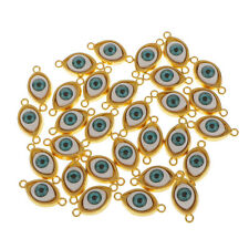 30pcs Evil Eye Charms Pendants Eye Connector Classic Necklace Jewelry Makings