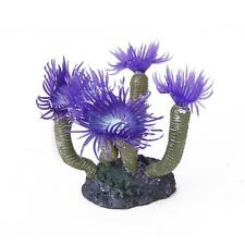 Aquarium Fish Tank Artificial Sea Anemone Coral Plant Ornament Decor