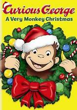 Curious George: A Very Monkey Christmas (DVD, 2009)