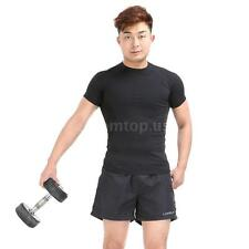 Polyester Men Sports Shorts  Casual Trousers Jogging Running Gym Pants New Z9U5