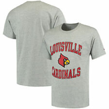 Louisville Cardinals Champion Tradition T-Shirt - Gray - NCAA