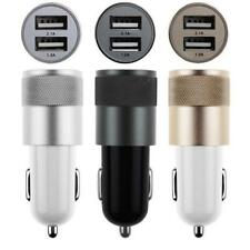 Adapter 2-port Dual Usb Bullet Car Charger  2.1a/1.0a for Iphone 5 6 Samsung
