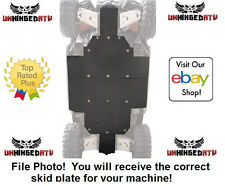 "UMHW Tusk Quiet-Glide Skid Plate 3/8"" – Fits: Can-Am Commander 800R XT 2011–2014"