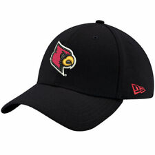 Louisville Cardinals New Era Relaxed 49FORTY Fitted Hat - Black - NCAA