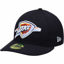 Oklahoma City Thunder New Era Low Profile 59FIFTY Fitted Hat - Navy - NBA