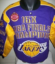 LOS ANGELES LAKERS Championship Gear 16 Time NBA Championship Twill Jacket