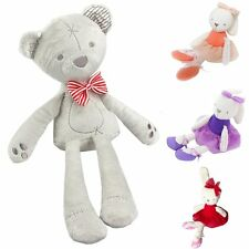 Cute Bunny Bear Soft Plush Toy Rabbit Stuffed Animal Baby Kids Gift Animals Doll