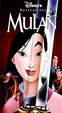 Mulan VHS 1999 DISNEY MASTERPIECE COLLECTION FAST SHIPPING with TRACKING!