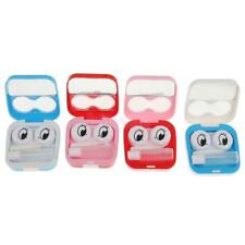Portable Storage Holder Contact Lens Case Travel Kit Mirror Container - 4 Colors