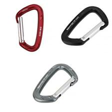 Snap Clip Carabiner Karabiner Gear for Rock Climbing Mountaineering Rappelling