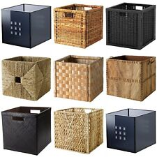 Ikea Boxes - Baskets Dimensioned To Fit EXPEDIT Shelving Unit - Complete Range