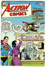 """Action Comics #196  VG/FN    1954   """"strict grading"""" and """"1 day shipping"""""""