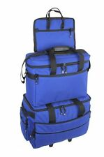 BLUEFIG 3Pc Wheeled Case,Project&NotionsBag fits Bernina B200 Series 215 Simply