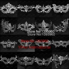 28 style Silver sexy masquerade masks venice mask halloween laser cut mask party