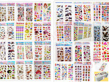 Teacher Reward stickers 3D Puffy Scrapbooking Kids Party Favors Crafts Stickers