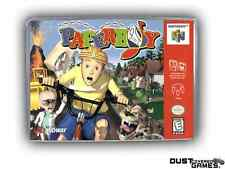 Paperboy Nintendo 64 N64 Game Case Box Professional Quality!!!