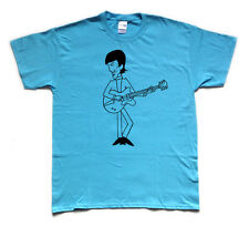 GEORGE HARRISON / BEATLES screenprinted T shirt