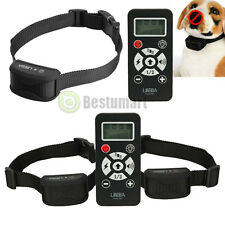 Waterproof Remote 800 Yard LCD Electric Shock Vibrate Dog Training Collar 1-2dog