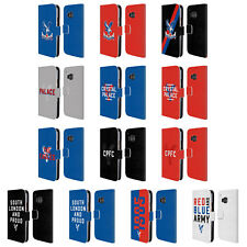 OFFICIAL CRYSTAL PALACE FC THE EAGLES LEATHER BOOK WALLET CASE FOR HTC PHONES 1