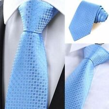 Party Business Plaids & Checks Men's Necktie Jacquard Woven Silk Tie