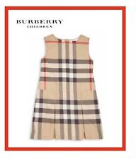 BURBERRY GIRLS' DAWNY JUMPER DRESS NEW CLASSIC SIZE 6 7 8 OR 10 YEARS NWT $185