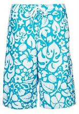 Adidas Mens Hawaii Swim Shorts Z36086 XS,S,M,L Turquoise Beach Pool Trunks NEW