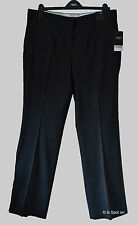 BNWT NextBlack Dot Bootcut Tailored Trousers with Stretch Size 16 Long, 18 Long