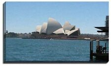 Canvas Print Wall Art Sydney Harbour By Day