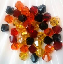 BICONE GLASS BEADS CELESTIAL CRYSTAL MIXES 100pc