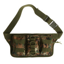 Tactical Molle Fanny Pack Waist Bag Outdoor Hiking Camping Phone Pouch Pocket