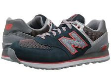 NEW BALANCE ML574OIA ML574 Mn's (M) Water/Grey Suede/Mesh Classic Running Shoes