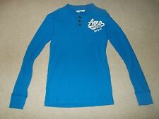 Aeropostale Henley Thermal Long Sleeve Mens Size Small / SM / S