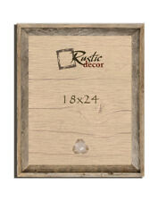 Rustic Decor Barn Wood Reclaimed Wooden Signature Wall Picture Frame