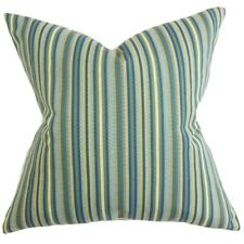 The Pillow Collection Dafydd Stripes Throw Pillow
