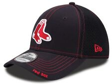 Boston Red Sox New Era MLB 39THIRTY Navy Neo Fitted Hat - 2 Sox
