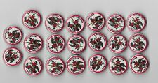 BUDWEISER LIMITED EDITION RETRO 2014  BOTTLE CAPS  (LOT OF 40)