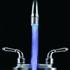 RGB Sale Top Glow Changing Faucet Temperature Sensor Water Light Tap LED