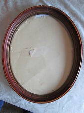 Vintage Oval wood picture frame