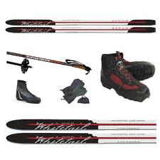 ALL THE WHISTLES! METAL EDGE XC SKIS PKG-BC SKIS, BC BOOTS/BINDINGS, BC POLES