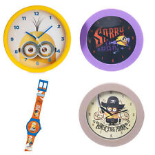 Minions Wall Clocks & Watches (Assorted)
