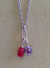 Lela Belle Dangle 1 Link Necklace for Lela Belle Murano Beads sold w/out beads