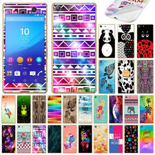 For Sony Xperia M5 Pattern Vinyl Skin Decal Sticker Cover Protector