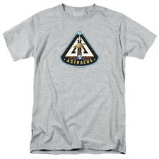 Eureka Astraeus Mission Patch Mens Short Sleeve Shirt SILVER