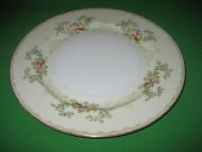 """Vintage Meito China FLORA Hand Painted Dinner Plate 10"""" Japan"""