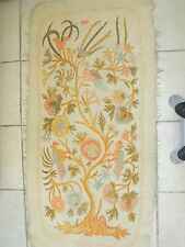 Hand made area rug/wall hanging pure wool (Vintage)