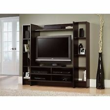 Entertainment Center Wall Unit Flat TV Stand Console Media Cabinet Book Shelves