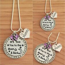 Personalised Gift Necklace for mum sister daughter cousin nan nana- Mother's day