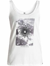 DC Lily White Comes Around Womens Tank Top