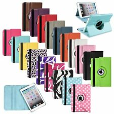 For iPad MINI 1 2 3 360 Rotating Magnetic Leather Case Smart Cover Swivel Stand