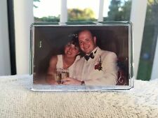 Personalised photo fridge magnet. Fridge magnet photo insert. Personalise magnet